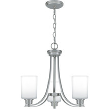 Pruitt 3-Light Chandelier in Brushed Nickel - $259.99