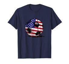 New Shirts - United States Soccer Ball Flag Jersey Shirt USA Football Men - $19.95+