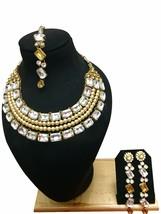 New Indian Bollywood Style Ethnic Bridal Wedding Fashion Jewelry Necklac... - $34.99