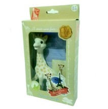 Vulli Sophie the Giraffe La Baby Teether Natural Rubber Pacifier Squeake... - $20.57