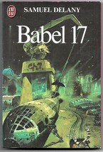Babel 17 Samuel Delany French Book Chris Foss Cover Art  1980 - $6.50