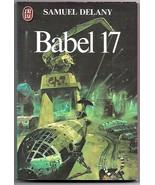 Babel 17 Samuel Delany French Book Chris Foss Cover Art  1980 - $6.50
