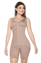 Post-Surgical Mid-Thigh Breast Coverage Compression Bodysuit Shaper to S... - $139.99