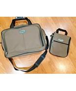Eddie Bauer Travel Shoulder 2 piece carry on ACCESSORY BAG - $39.59