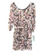 Size XS - NWT$48 Lily Rose Black & Blush Floral Print 3/4 Sleeve Dress  - $37.99