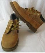 Timberland Women's Nellie Chukka OrthoLite Wheat Boots Size 7.5 Hiking Work - $54.44