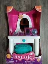 """My life as 13-piece vanity table play set, for 18"""" dolls - $19.88"""