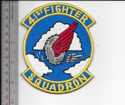 US Air Force USAF Korea 41st Fighter Interceptor Squadron FIS Korean War Patch - $9.99