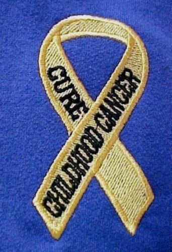Primary image for Childhood Cancer Sweatshirt Awareness 2XL Ribbon Royal Crew Neck Unisex New