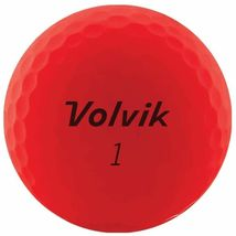 Volvik 2020 Vivid 3 Pc Golf Balls Matte Red - $42.50