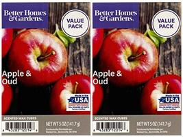 Better Homes and Gardens Apple and Oud Wax Cubes 2-Pack - $22.49