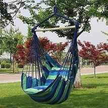 Hammock Chair Swing Hanging Tree Seat Yard Lounge Camping Portable Trave... - $53.36