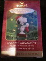 HALLMARK KEEPSAKE ORNAMENT A SNOOPY CHRISTMAS SNOOPY ORNAMENT BRAND NEW ... - $9.99