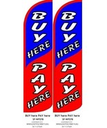Buy Here Pay Here King size Windless Flag - Pack of 2 (HARDWARE NOT INCL... - $31.67