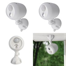 New! Led Motion Sensor Bright Light Home Detection Battery Operated Wate... - $21.46