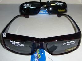 Solar Shield Polarized Sunglasses Fits Over,Size M Lot Of 2 ,Blocks 100 % UV NEW - $16.78