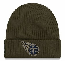 Era 2018 Mens Salute to Service Knit Hat Tennessee Titans - $29.03