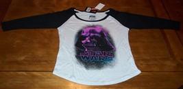 WOMEN'S TEEN 70'S STYLE STAR WARS DARTH VADER PINK POP ART T-shirt MEDIU... - $19.80