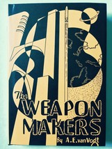 The Weapons Makers/ van Vogt Signed Mint - $98.00