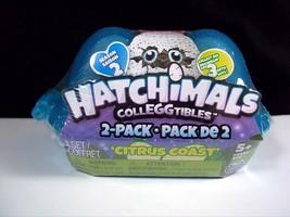 Hatchimals Colleggtibles Citrus Coast 2 pack Season 2 egg carton NEW Sealed - $4.95