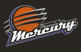 Phoenix Mercury WNBA 3'x5' black Flag Diana Taurasi Brittney Griner USA seller - $25.00