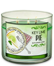 Bath & Body Works Key Lime Pie Three Wick.14.5 Ounces Scented Candle - $22.49