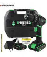 ANEERPOWER® 21V Double Speed Impact Drill Electric Hammer Drill Battery ... - $141.93