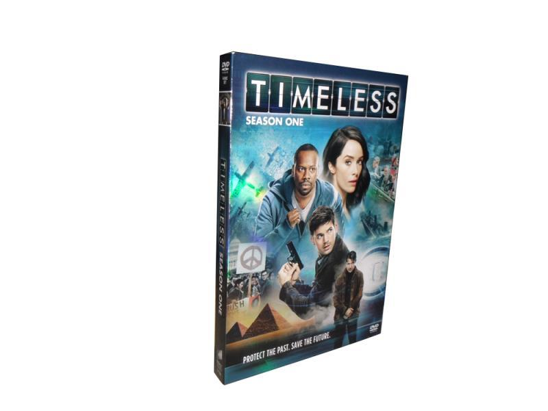 Timeless The Complete First Season 1 DVD Box Set 4 Disc Free Shipping