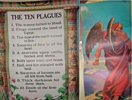 Vintage Religious Posters Church 50's 60's Jesus Bible Stories 18x24 15pcs  image 1