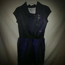 Disney Descendent 3 Sz. Lg. 10/12 Black/Purple Dress - $7.25