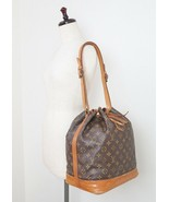 Authentic Vintage LOUIS VUITTON Noe Monogram Shoulder Tote Bag Purse #29149 - $349.00