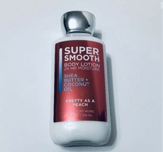 Bath and Body Works Pretty As A Peach Super Smooth Body Lotion Great Gift - $17.81