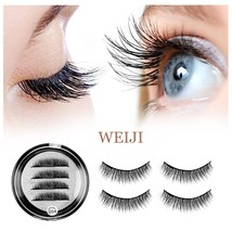 Magnetic False Eyelashes No Glue - Dual Magnet Black False Eyelashes for... - $27.00