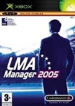 LMA Manager 2005 (Xbox) - Free postage - UK Seller  - $4.86
