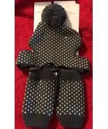 WONDERSHOP Dog Puppy Knit Beanie Hat & Leg Warmers Clothes Set Brown Tan... - $14.84