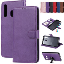 For Samsung Galaxy A30 A50 A20 A10 M10 M20 Removable Magnet Leather Wallet Case - $60.45
