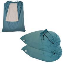 Extra Large Laundry Bag Cotton Drawstring Washing Basket  2 Pack Wash Bags - $37.99
