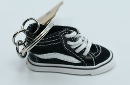 Vans Black SK8-Hi High Top Canvas Skate Shoe Key Chain - $12.99