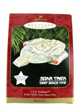 HALLMARK KEEPSAKE MAGIC ORNAMENT - STAR TREK DEEP SPACE NINE U.S.S. DEFIANT - $18.76