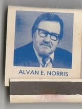 Vtg Strike on Matchbook Vote for Alvan E. Norris Lodi Municipal Judge Ca... - $9.89
