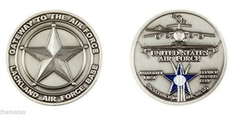 LACKLAND AIR FORCE BASE GATEWAY TO THE AIR FORCE CHALLENGE COIN - $17.14