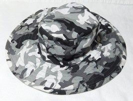 Arizona Jean Co. Toddlers Camouflage Black & Gray Color Sun Hat - Reversible