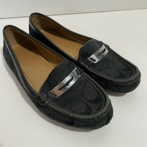 Coach Size 7 Olympia Loafer Shoes Black - $34.99