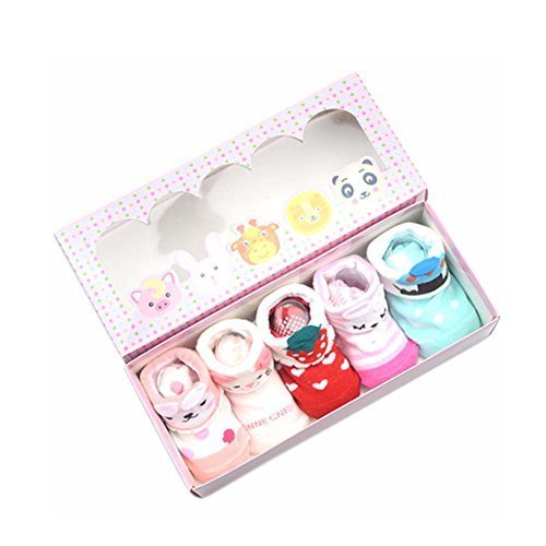 Breathable and Comfortable Cotton Socks Baby Socks Gift Sets