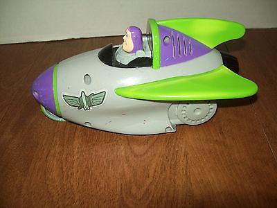 Fisher Price Shake n Go Buzz Lightyear Toy Story 3 Talking Rocket Ship Race Car