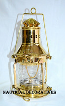 Vintage Anchor Oil Lamp Maritime Ship Lantern Boat Light ANCHOR Lamps - £37.59 GBP