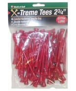 Golf Tees 2 3/4 Inch Extreme Tees Colorful Durable Golf Tees Pack of 65 - $7.97