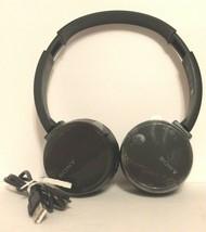 Sony WH-CH500 Stamina Wireless Headphones, Black  - $27.67