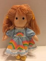 "Joe Walsh Anglund Rainbow Joy Doll 1980 Applause 8"" - $6.79"
