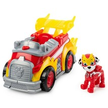 Paw Patrol Mighty Pups Super Paws -Marshall Deluxe Vehicle -Lights & Sounds L109 - $16.44